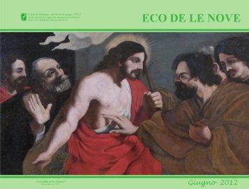 Eco giugno 2012 - Parrocchia di Nove