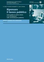 Ripensare il lavoro pubblico - Magellano