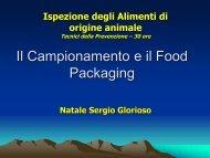 10-Campionamento e food Packaging 10° PDF - Corso di laurea in ...