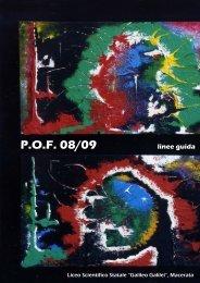 POF 08/09 linee guida - Liceo Scientifico