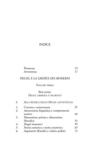 Indici dei due volumi - La scuola di Pitagora editrice