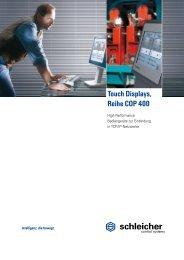 COP 4XX Datenblatt - Schleicher Electronic