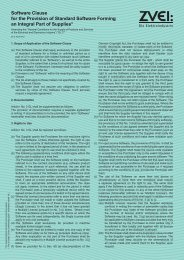 Software Clause for the Provision of Standard Software ... - PTW