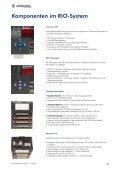 Systembeschreibung RIO / microLine - Schleicher Electronic - Page 5