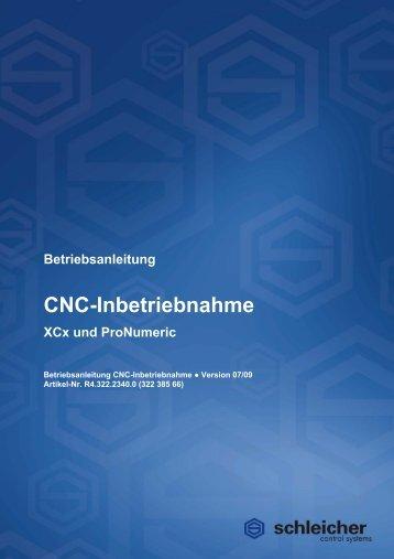CNC-Inbetriebnahme - Schleicher Electronic