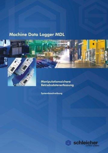 Systembeschreibung MDL - Schleicher Electronic