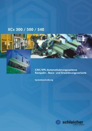 Systembeschreibung XCx 300/500/540 - Schleicher Electronic