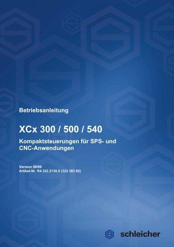 Betriebsanleitung XCx - Schleicher Electronic
