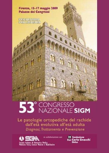 Congresso Nazionale SIGM - Fondazione Don Carlo Gnocchi