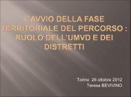 Torino 26 ottobre 2012 Teresa BEVIVINO - Residenze Anni Azzurri
