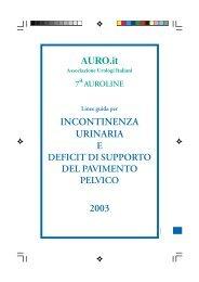 AURO.it INCONTINENZA URINARIA 2003