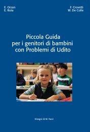 Piccola guida per i genitori di bambini con problemi di udito