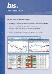 Advanced Chart Professionelle Technische ... - Lenz+Partner AG