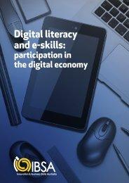 Digital literacy and e-skills: