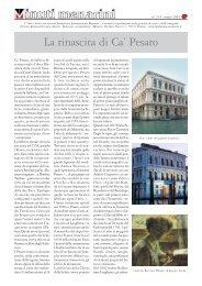 314 La rinascita di Ca' Pesaro - Fondazione Internazionale Menarini