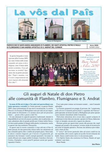 bollettino 2009 bassa definiz..pdf - Flumignano Giovane Web Site