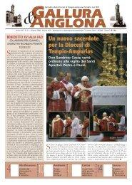 Gallura & Anglona, giugno 2008 - elezione di Papa Francesco