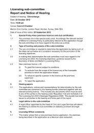 Chimichanga, SW19 1RH - Merton Council