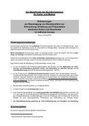 Erläuterungen zur Beantragung von Bundesmitteln (pdf, 40 KB)
