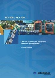 Systembeschreibung XCx 400 / XCx 800 - Schleicher Electronic