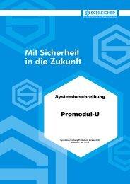 Systembeschreibung Promodul-U - Schleicher Electronic
