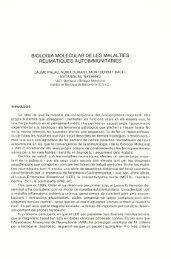 Biologia molecular de les malalties reumàtiques autoimmunitàries