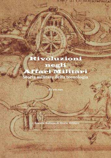 Rivoluzioni negli Affari Militari - Societa italiana di storia militare