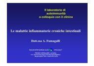 Le malattie infiammatorie croniche intestinali - ASL n. 4 Chiavarese