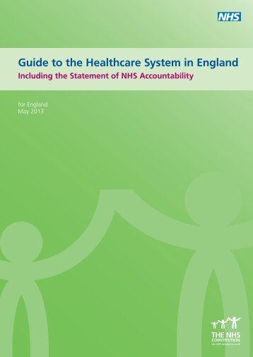 Guide to the Healthcare System in England