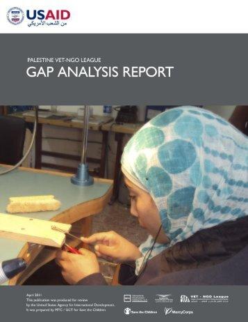 Gap Analysis Report - MTC