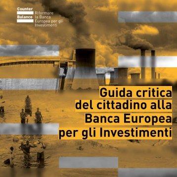 Banca Europea del cittadino alla Guida critica per gli ... - Attac Italia