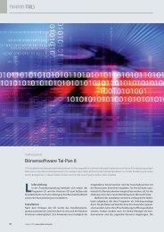 Börsensoftware Tai-Pan 8 TRADERS´TOOLS - Lenz+Partner AG