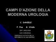 campi d'azione della moderna urologia - infermieri blocchi operatori