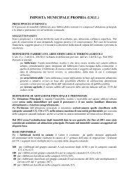 IMPOSTA MUNICIPALE PROPRIA (I.M.U.) - Comune di Sammichele ...