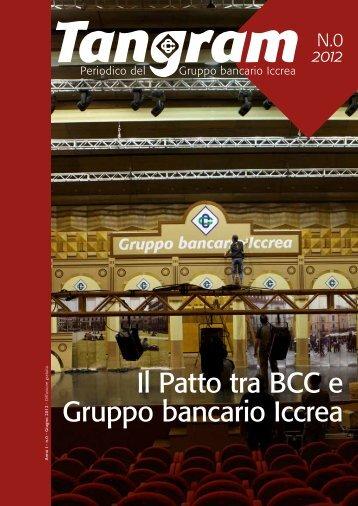 Il Patto tra BCC e Gruppo bancario Iccrea