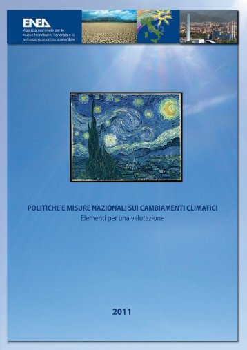 Politiche e misure nazionali sui cambiamenti climatici - Enea