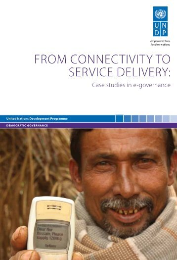 From ConneCtivity to ServiCe Delivery: