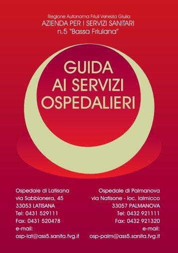 guida ai servizi ospedalieri - Azienda per i Servizi Sanitari n. 5 ...