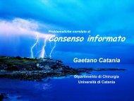 Consenso informato - Studium