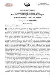 Card. Dionigi Tettamanzi: Famiglia diventa anima ... - Chiesa di Milano