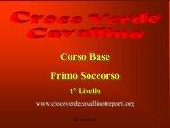 Primo Soccorso parte 2 - Croce Verde Cavallino-Treporti