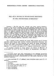 MARIANGELA D'ONZA CHIODO - EMANUELA PANATTONI ' PALI ...