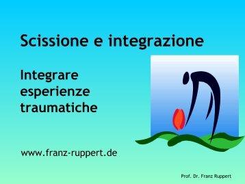 Scissione e integrazione - La Fonte