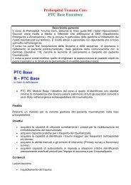 Brochure PTC Base - ASL n. 4 Chiavarese
