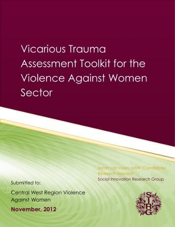 Vicarious Trauma Assessment Toolkit for the Violence Against ...