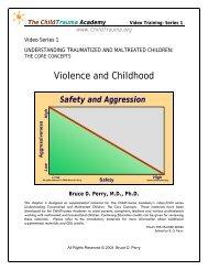 Understanding Traumatized Children: Core Concepts - Centre for ...