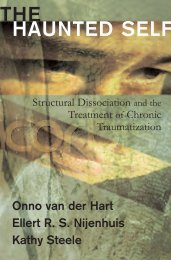 THE HAUNTED SELF - ONNO VAN DER HART PhD