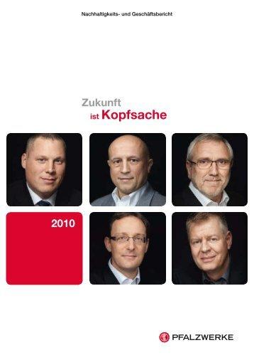 und Geschäftsbericht 2010 - bei bfw tailormade