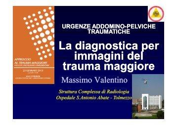 La diagnostica per immagini del trauma maggiore