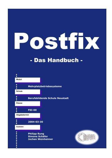Das Handbuch - Berufsbildende Schule Neustadt an der Weinstraße